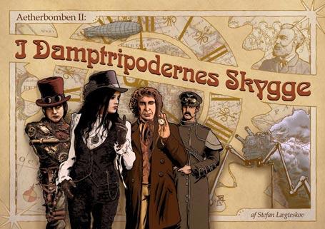 Cover til I Damptripodernes Skygge