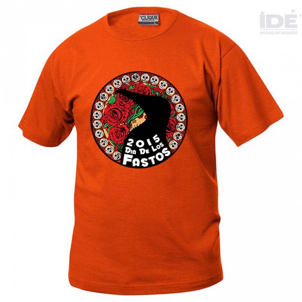 Orange-T-shirts