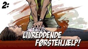 Grafik til Dansk Førstehjælps instruktionsvideoer
