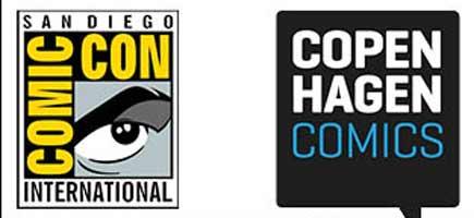 Tegneseriecon'er til sammenligning