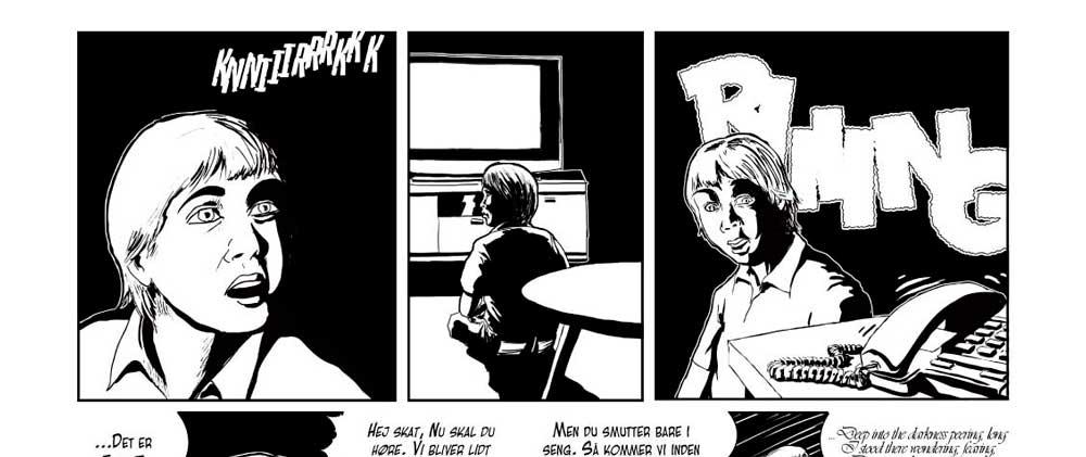 tegneserie, Einar og Mara