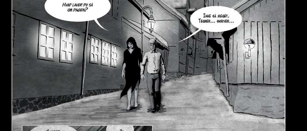 tegneserie. Einar og Mara 03